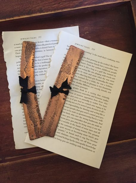 Copper Bookmark
